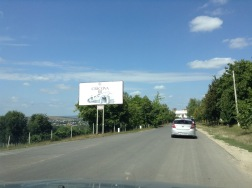 On the way to Cricova