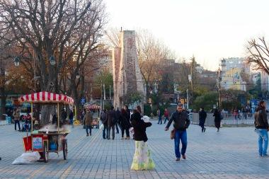 Istanbul in December