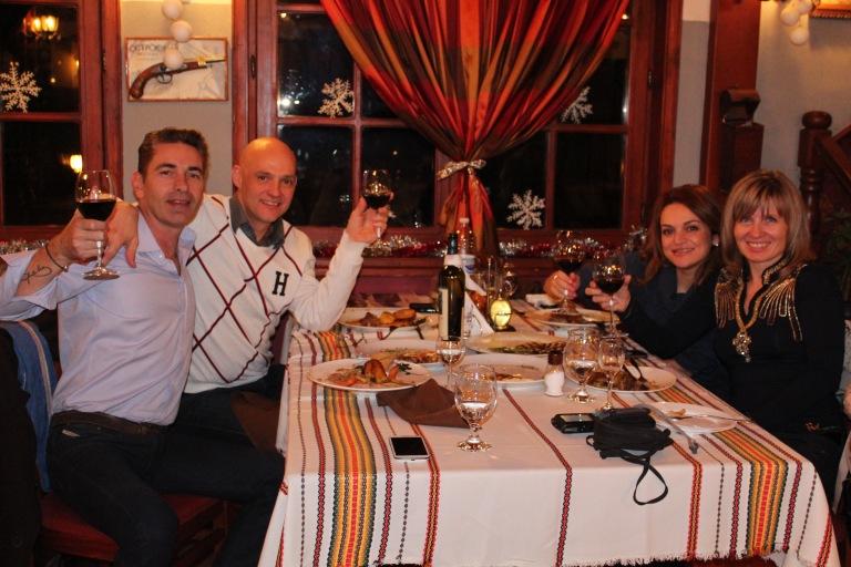 Plovdiv in December hospitality